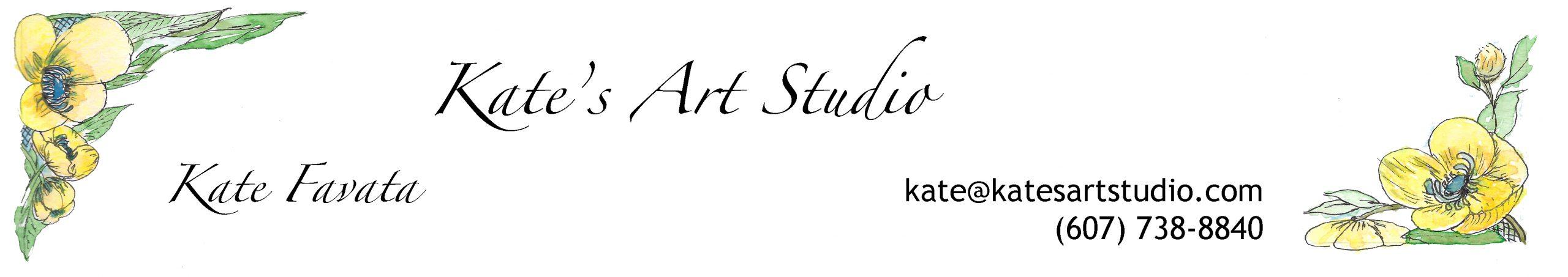 Kate's Art Studio